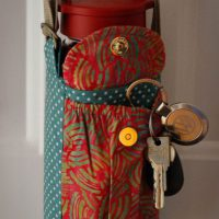 Purse With Water Bottle Pocket