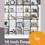 14 Inch Deep Wire Shelving