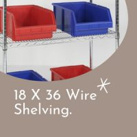 18 X 36 Wire Shelving