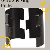 Plastic Shelf Supports For Wire Shelving Units